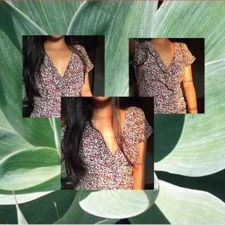 Mango Wrap Dress