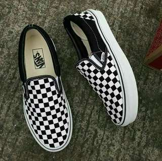 VANS SLIPON CHECKERBOARD
