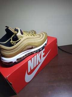 Nike air max 97 gold bullet