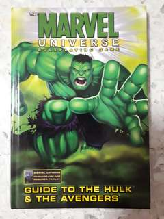 The Marvel Universe Roleplaying Game : Guide to The Hulk and The Avengers