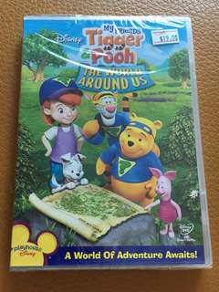 (Brand New) Tigger & Pooh The World Around Us DVD