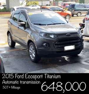 2015 Ford Ecosport Titanium automatic