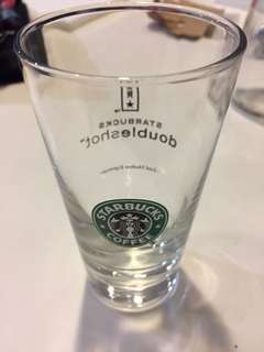Starbucks vintage glass