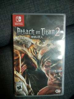 Wts Attack on titan 2