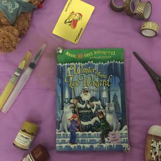 Magic Tree House- Winter of the Ice Wizard