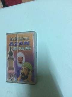Kaset Ceramah Kelebihan Azan oleh Dato Ismail Kamus