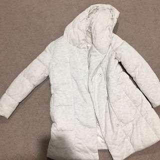 White jacket wool