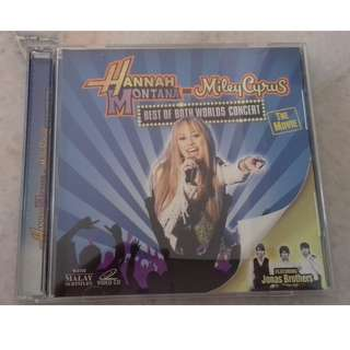 [VCD] Hannah Montana and Miley Cyrus: Best of Both Worlds Concert