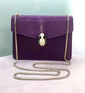 Bvlgari Flap Cover Sperpenti Forever Size: 20 x 14 x 4.5 cm Real and New