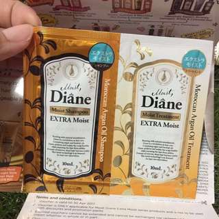 Moist, Diane Shampoo / Treatment 10ml