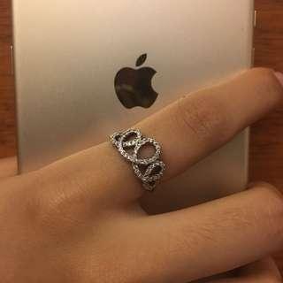 Silver Pandora Inspired Ring