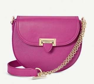 (Summer sale) Aspinal of London portable leather shoulder bag