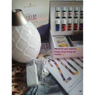 Young Living Essential Oils Premium Kit (Save P1000 with Free Membership and Delivery)