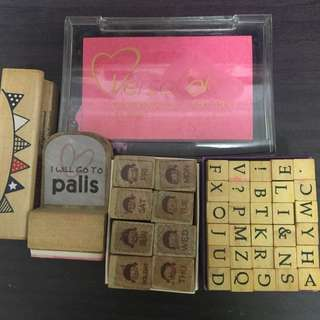 Alphabet Stamps & more