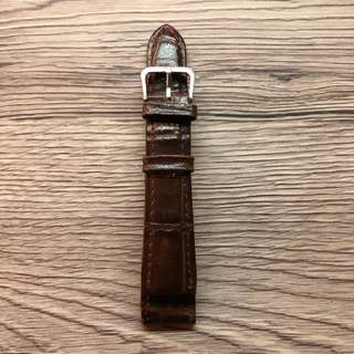 Leather Watch Strap 19mm