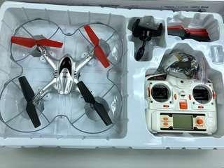 MJX 航拍搖控飛機 + 3電池