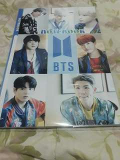 BTS notebook
