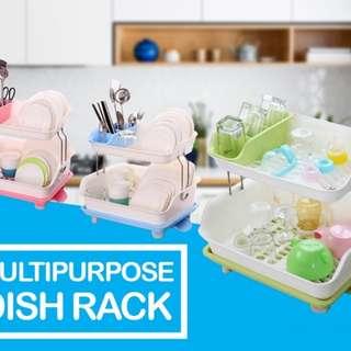 (J)MultiPurpose Dish Rack