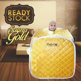 SAUNA SET PORTABLE GOLD
