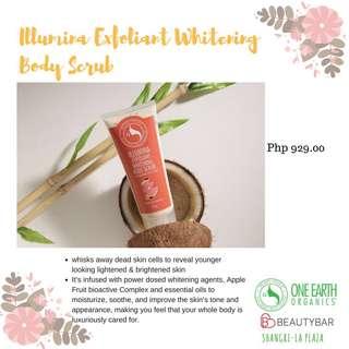 One Earth Organics Illumina Exfoliant Whitening Body Scrub