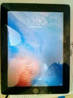 RUSH Apple iPad 2 32GB WIFI ✚ black flip case ✚ cable