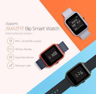 Preorder Xiaomi Amazfit Bip Gps Smart Watch Sports
