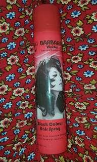 PRELOVED BARBARA BLACK COLOR HAIR SPRAY
