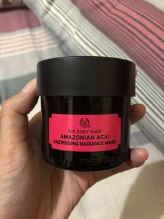 New! The Body Shop  Facial Mask - Amazonian Acai