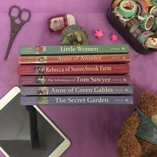 Classic Starts book set
