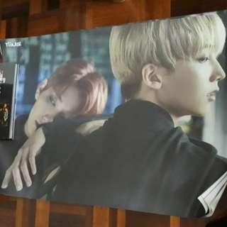 Seventeen Teenage Unit Poster ( Joshua & Jeonghan)