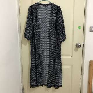 🚚 波希米亞風民族風長版罩衫