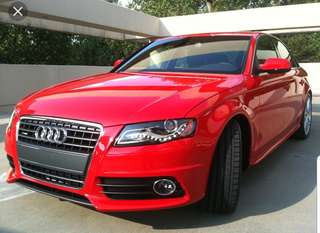 Audi A4 S-Line Bodykit. Director 4th Car / personal car. well maintain low mileage looking for lease/rent