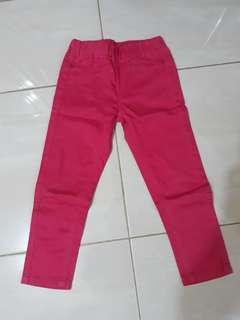 Celana panjang Barbie pink