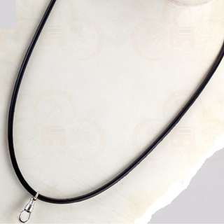 Amulet rubber necklace
