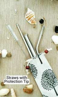 *Mix and Match!*  Reusable Metal/Stainless Steel Straw