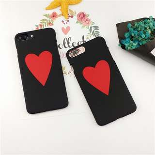 Big Heart Snap On Case