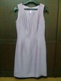 Lilac Office Dress