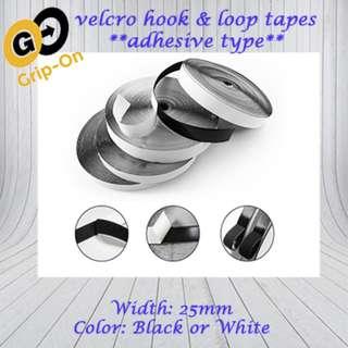 Hook & Loop Velcro Tape *SELF-ADHESIVE*