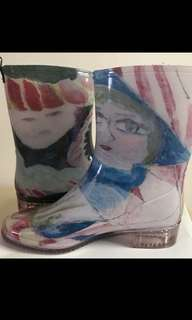 🈹️日本Ahcahcum Muchacha 抽象圖案2k鞋