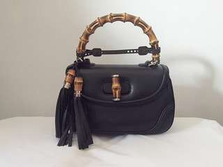 Gucci bamboo handle