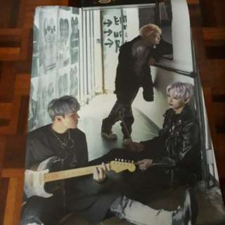 Seventeen Teenage Unit Poster (Vernon, Hoshi, Jun)