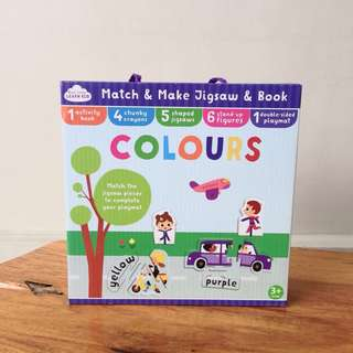 M&S Match and Make Jigsaw and Book