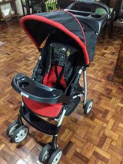 Graco Stroller with Snugride Car Seat