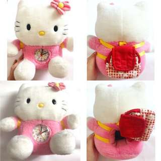 Boneka jam Hello Kitty