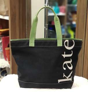 Authentic Kate Spade Canvas Tote