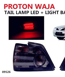 WAJA CRYSTAL TAIL LAMP