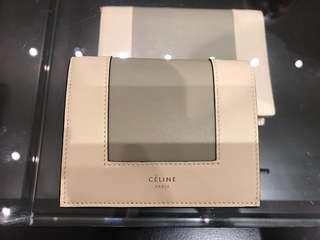 Celine 銀包 (全新)