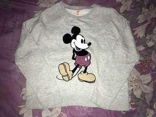 Uniqlo mickey mouse sweater