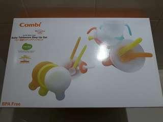 COMBI 嬰幼兒 副食品 學習 餐具