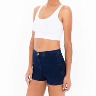 DENIM HIGH WAIST SHORT